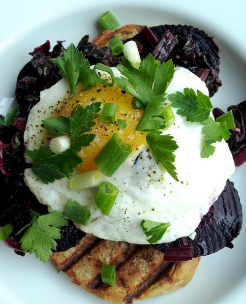 beetroot salad eggs