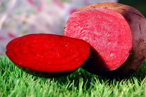 beets grass red