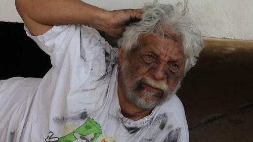 beggar bearded dirty