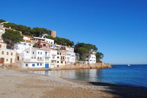 begur girona coastline catalonia
