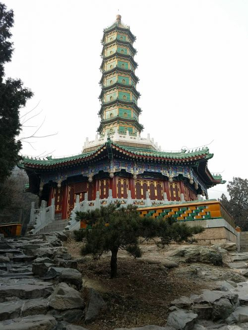 beijing winter xiangshan