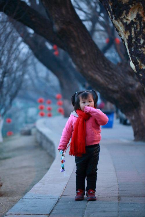 beijing girls chinese new year