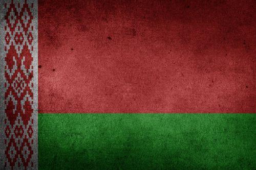 belarus flag grunge
