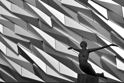 belfast titanic museum figure