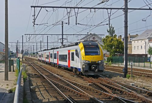 belgian state railways electrical multiple unit regional traffic
