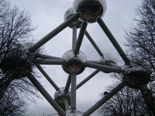 belgium atomium monument