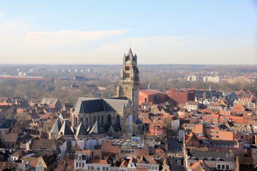 bruges belgium landscape