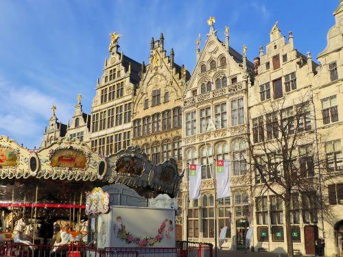 belgium antwerp facades
