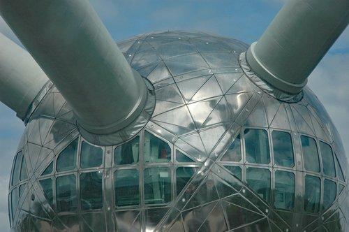 belgium 2015  brussels  atomium detail