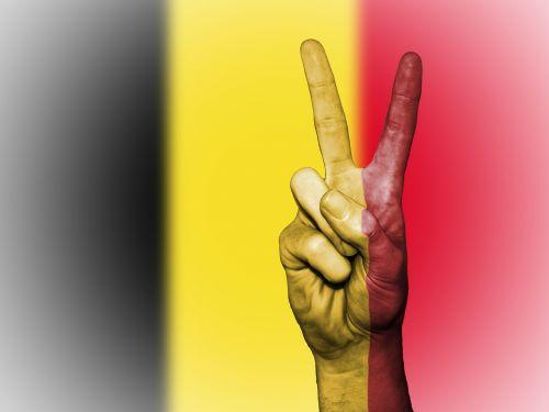 belgium flag peace