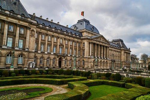 belgium  brussels  palace