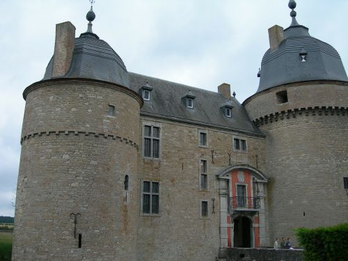 belgium chateau castle