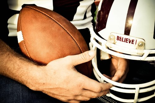 believe  football  helmet