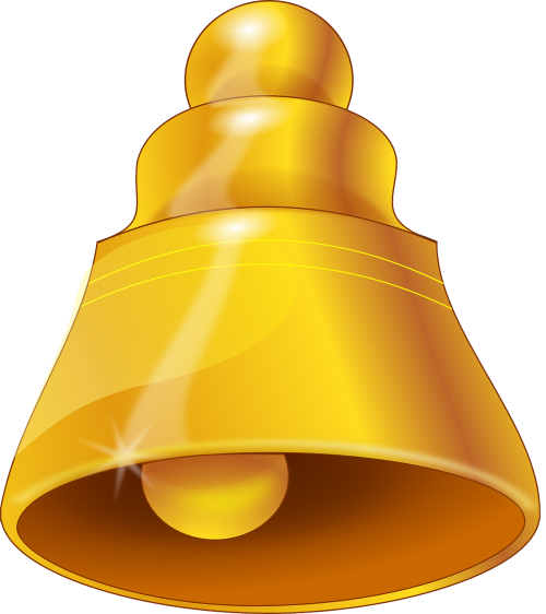 bell gold ring