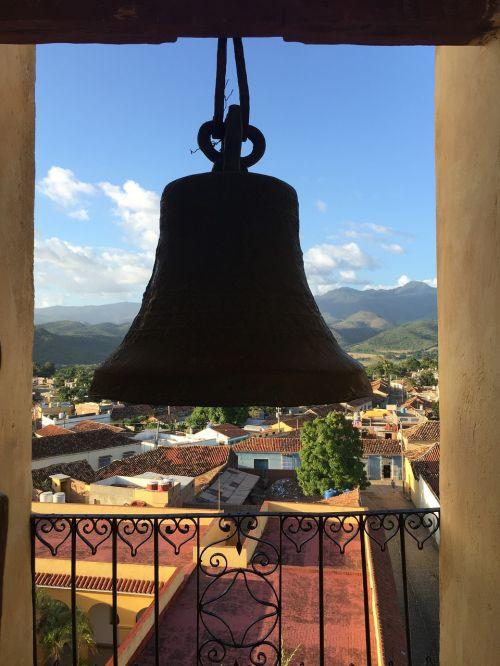 bell trinidad church cuba city unesco heritage trinidad cuba