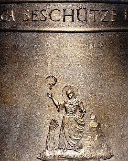 bell modern bronze bell memorial bell