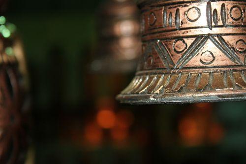 bell brass metal