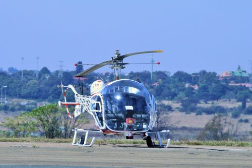Bell 47 G-3b Helicopter