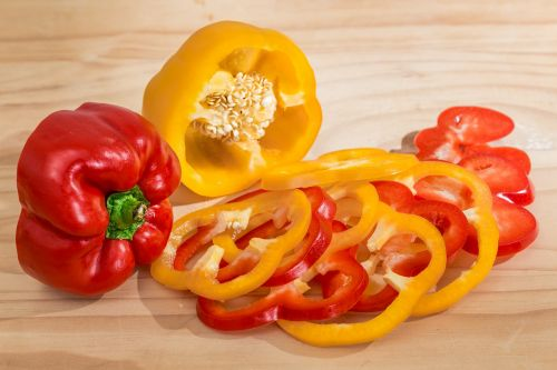 bell pepper sweet pepper capsicum