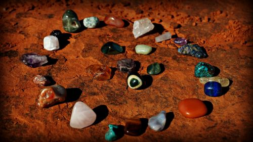 bell rock vortex stones crystals