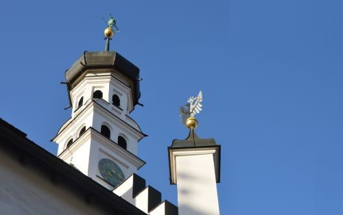 architecture bell tower kempten