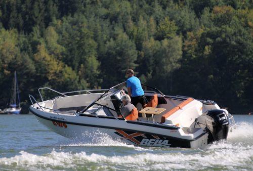 bella 600 br motorboat kws