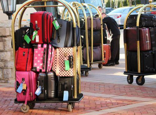 bellman luggage cart baggage luggage trolley
