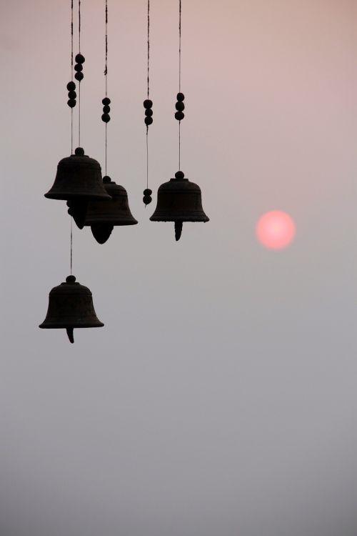bells sunset sunrise