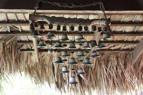 bells roof decor