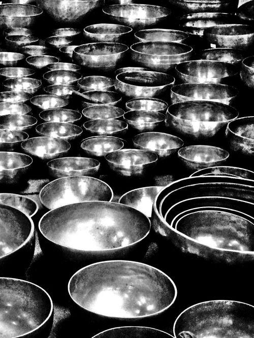 bells bronze tibetan