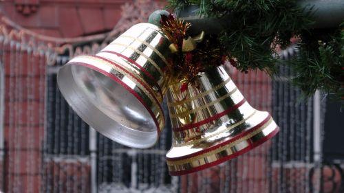 Bells On A Christmas Tree