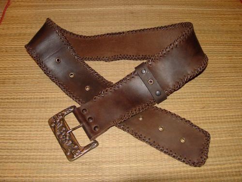belt skin leather goods