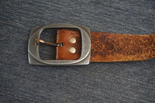 belt loop leather
