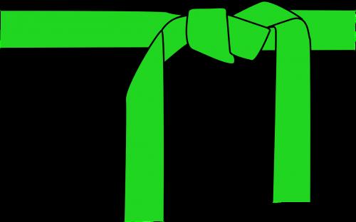 belt green karate