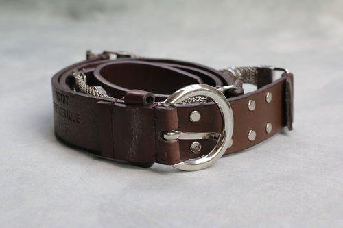 belt  accessory  brown