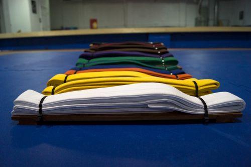 belts colors martial arts
