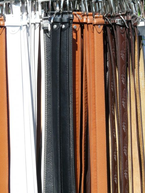 belts leather mass