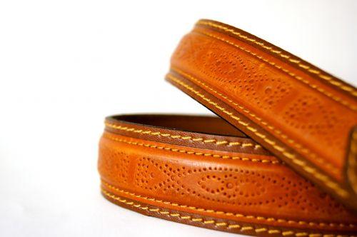 belts leather seam