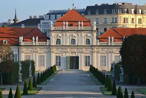 belvedere castle baroque