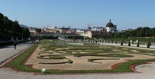 belvedere gardens vienna