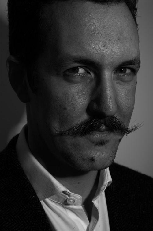 ben hammersley portrait technologist