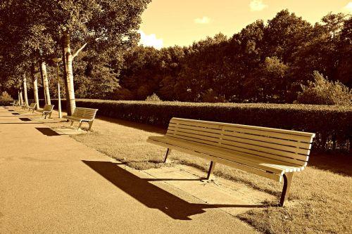 bench seat sitting