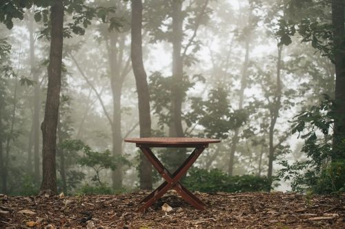 bench table outdoor