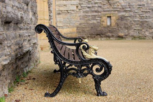 bench garden park