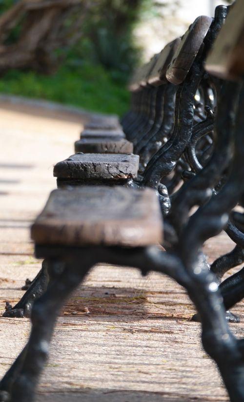 bench lisbon old