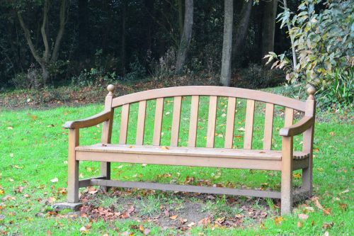 bench public bench bench wood