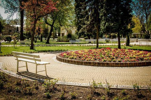 bench park spacer