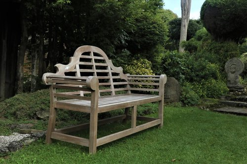 bench  nature  woodwork