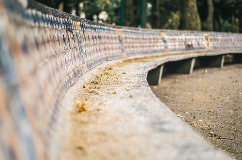 bench  park  mexico