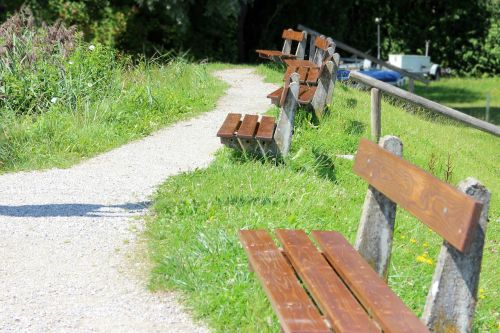 bench benches bank